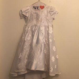 Baptism Lace (3 YR olds) Dress -angel